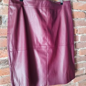sexy eco leather skirt for spring autumn winter