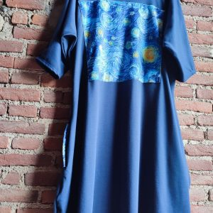 Van gogh style dress